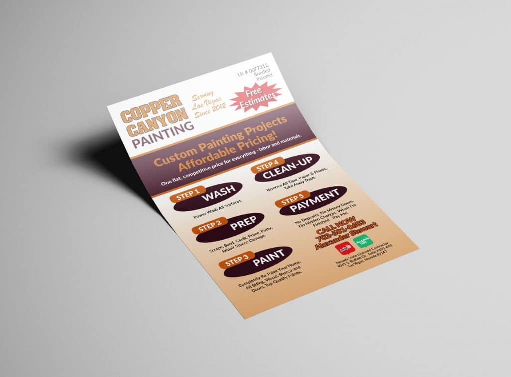 Michael Pothos Design - Affordable Las Vegas Flyer Design